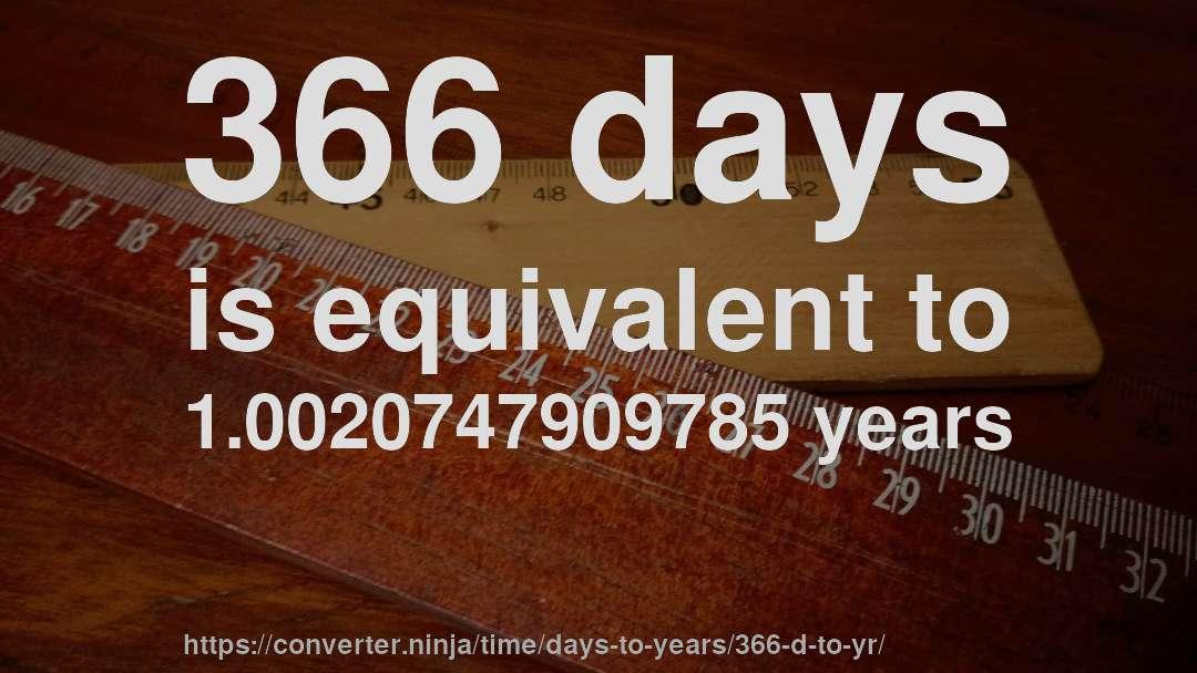 Image result for 366 days